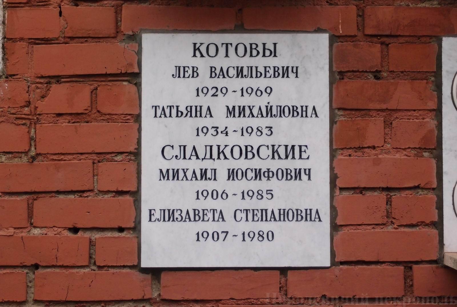 Михаил сладковский член корреспондент